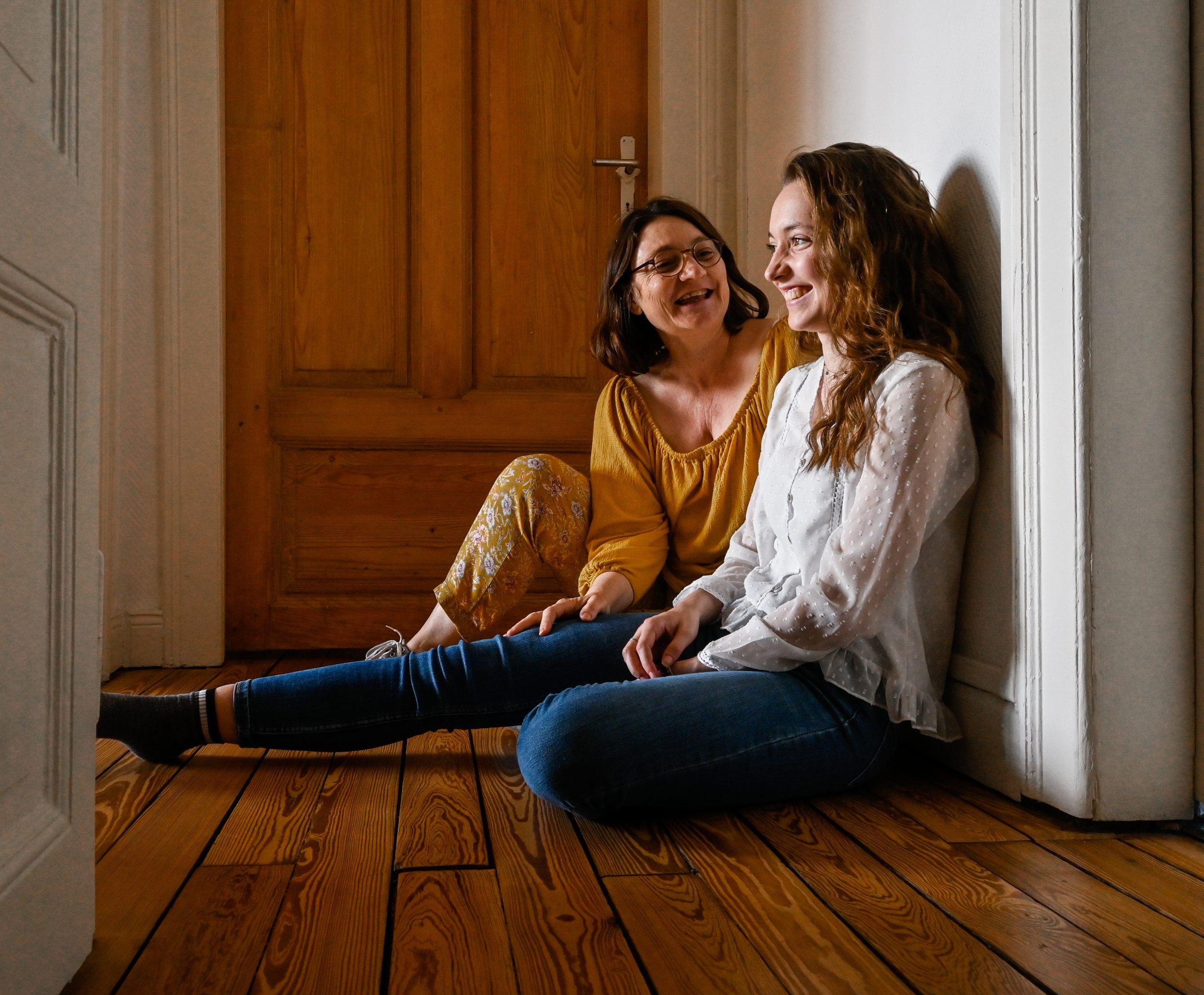 seance photo lifestyle famille mère et fille