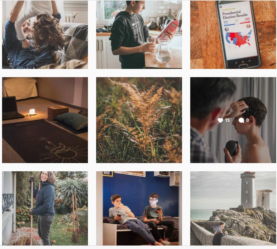 capture écran fil instagram vie de famille aurélie cestainsi